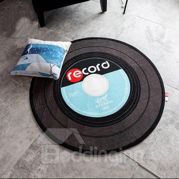 Round Polyester Fibre Creative European Style Record Area