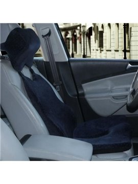 High Cost-Effective Solid Velvet Material Car Seat Mat