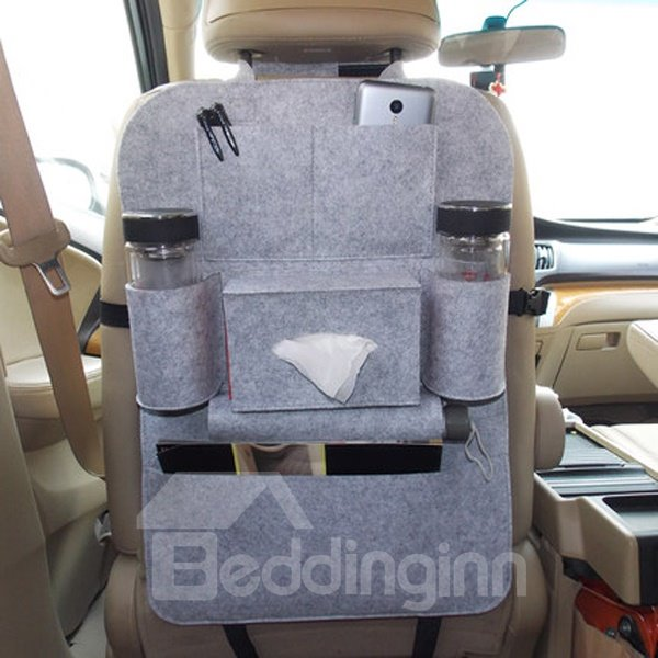 Multifunction Utility Anti-Kicking And High Cost-Effective Car Backseat Organizer