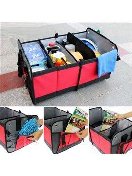 Popular And Fashionable Design Super High Capacity Waterproof Foldable Car Backseat Organizer