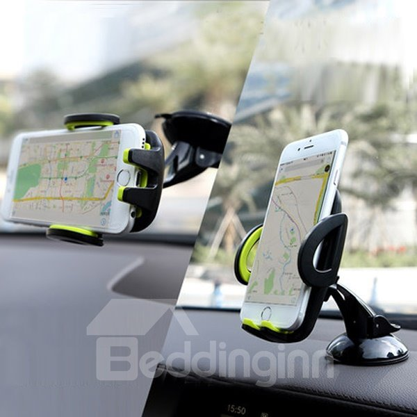 Multifunctional And 360 Degree Rotation Car Phone Holder