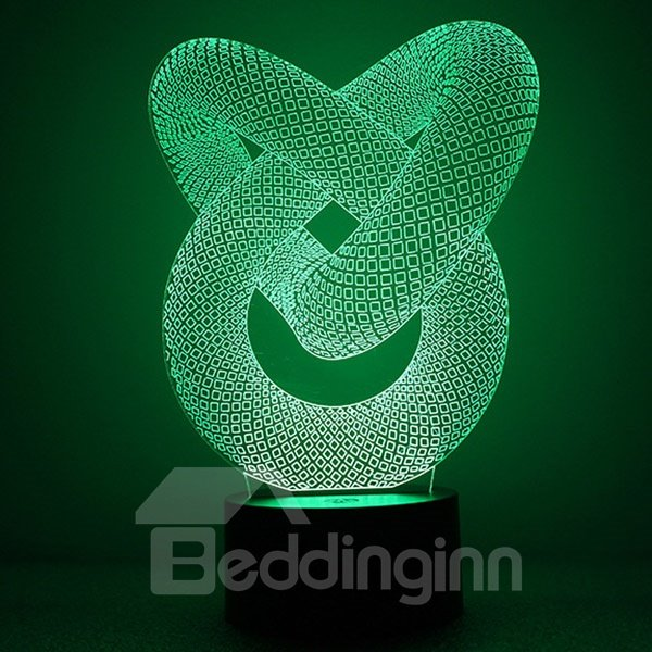 Acrylic Visual Creativity Dynamic Alternation Shape LED Nightlight