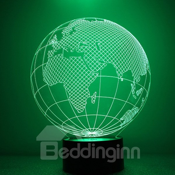 Modern Design USB Acrylic Tellurion Shape LED Nightlight