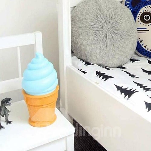 Creative Fantastic Ice Cream Shaped LED Night Lamp