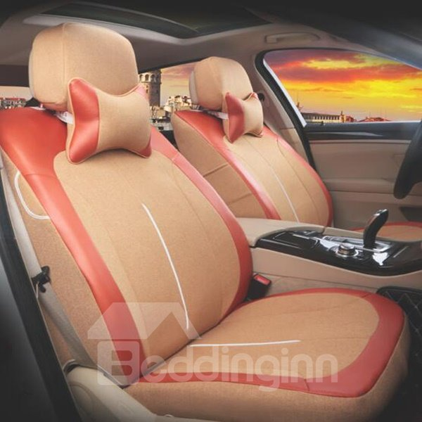 Charming Black Business And Sport Style Good Permeability Universal Car Seat Cover