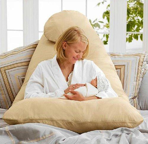 Multifunctional Waist Support Soft Full Body Contour U Pregnancy Pillow