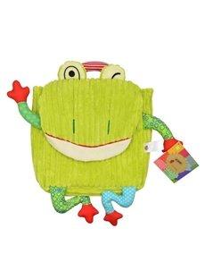 Bright Skip Hop Frog Shaped Little Kids Backpack