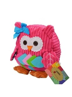Pretty Cute Pink Owl shaped Little Kids Backpack