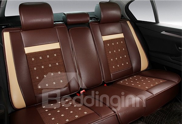 Luxurious And Classic Design Rubbing Breathable Universal Car Seat Cover