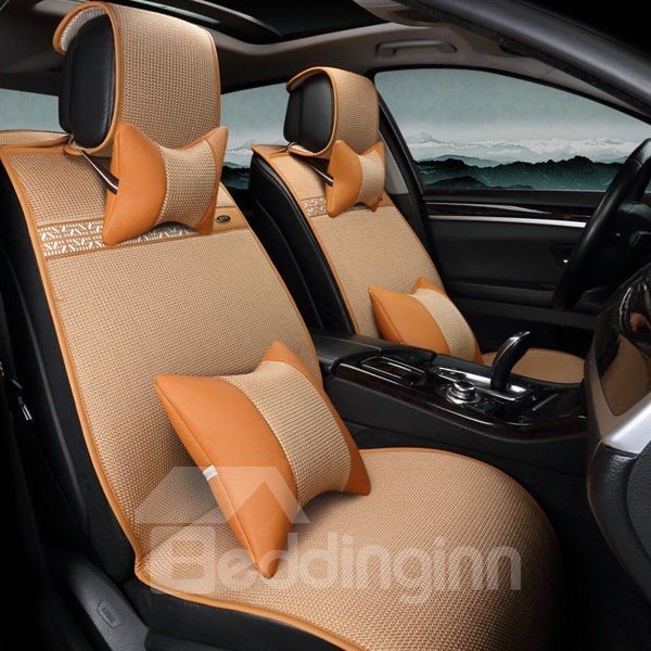 Chinese Style Beautiful Lines Very Flexible Universal Car Seat Cover