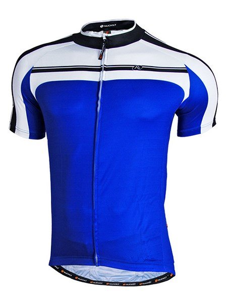 Male Streamline Breathable Full Zipper Road Bike Jersey Quick-Dry Cycling Jersey