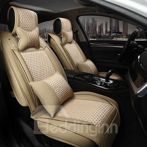 Textured Durable And Most Comfortable Universal Five Car Seat Cover