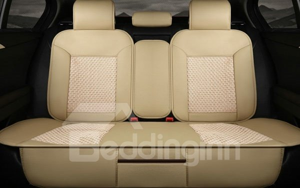 textured durable and most comfortable universal five car seat cover. Black Bedroom Furniture Sets. Home Design Ideas