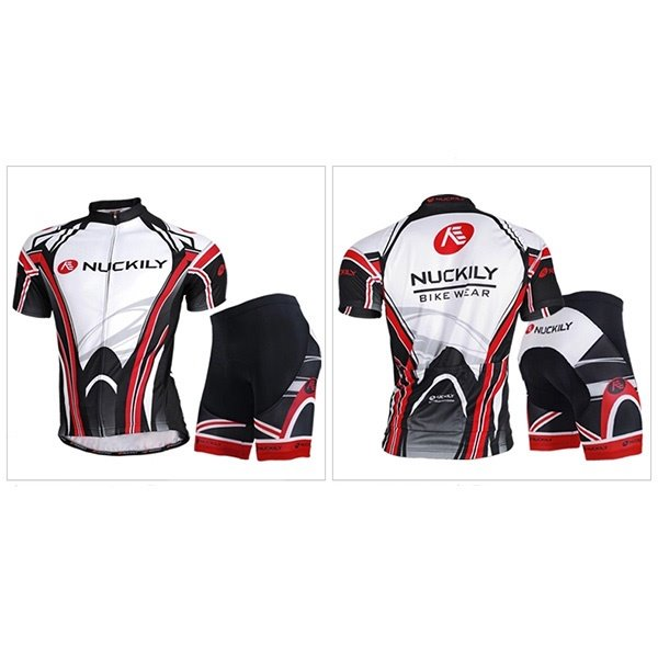 Male Road Bike Breathable Short Sleeve Jersey with Full Zipper Quick-Dry Cycling Suit