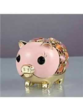 Represents Luck And Wealth Little Gold Pig Creative Car Decor
