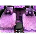 Luxurious And Charming Purple Princess Style Universal Car Seat Cover
