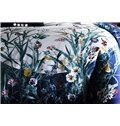 Elegant Orchid Digital Printing Pima Cotton 4-Piece Bedding Sets