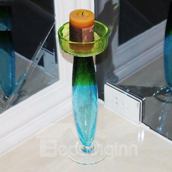 Romantic Color Gradients European Style Desktop Decoration Candle Holder
