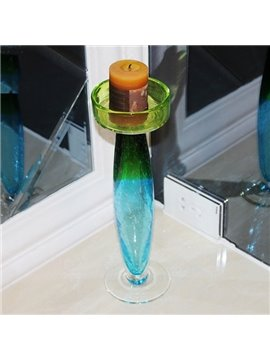 Romantic Color Gradients European Style Desktop Decoration Candle Holder