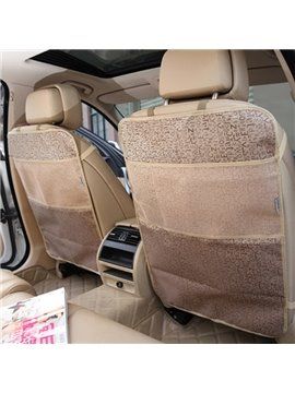 Simple And Large Waterproof Material 1-Pair Car Backseat Organizer