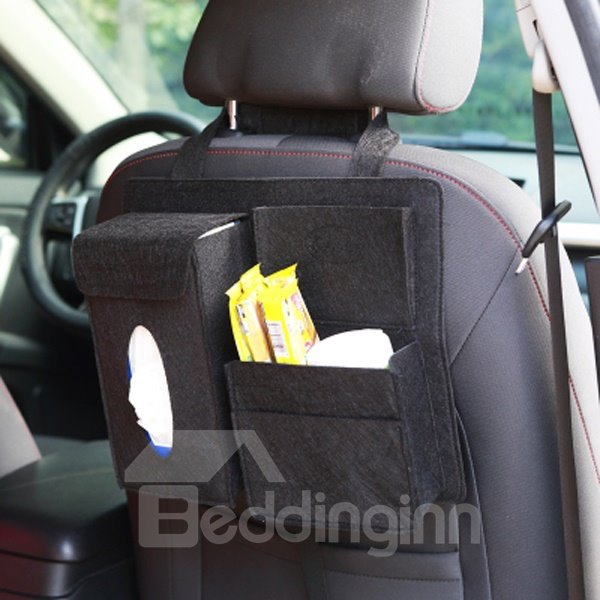 Super Exquisite And Useful High Capacity Single Car Backseat Organizer