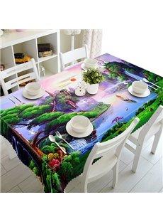Sunrise Natural Beautiful Scenery Pattern 3D Tablecloth