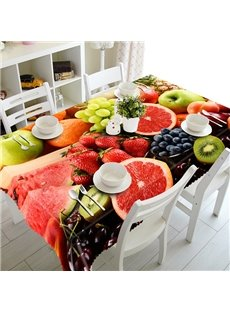 Delicious Miscellaneous Fruit Pattern 3D Tablecloth