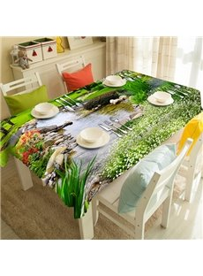 Gorgeous Sunset Scenery Pattern 3D Tablecloth