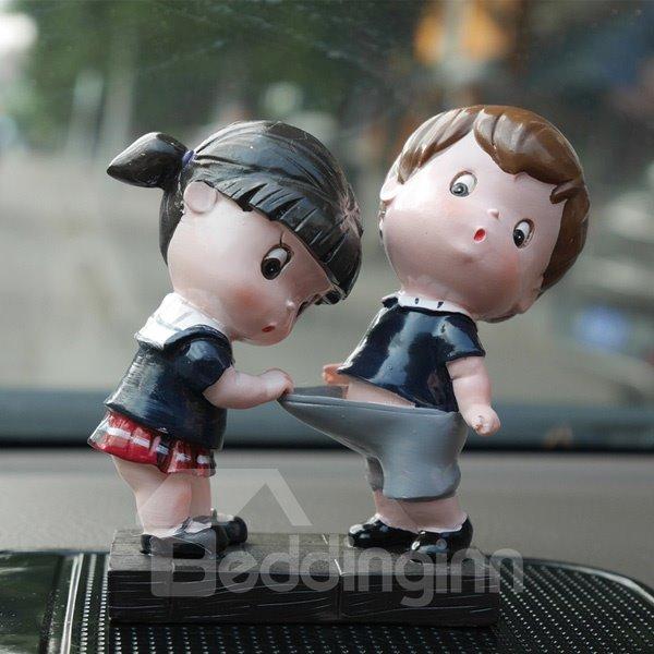 Childlike Innocence Popular Cartoon Car Creative Decor