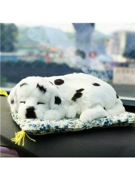 Lovely Spotted Dog Style High-Grade Plush Decoration Car Creative Decor