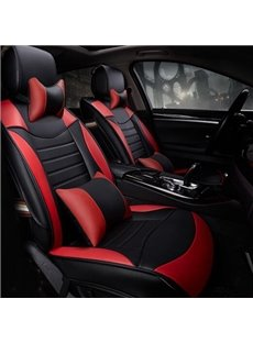 Super High Cost-Effective Charming PU Leatherette Universal Five Car Seat Cover