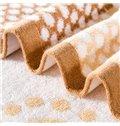 Super Soft Sumptuous Peony Jacquard Cotton Quilt