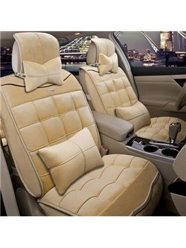 Antistatic Rubbing Comfortable Material Popular Design Universal Car Seat Cover