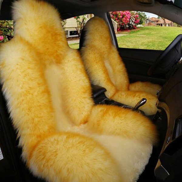 Soft Wool Beautiful Color Cost-Effective Luxurious Five Universal Car Seat Cover
