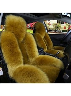 Luxury And Warm Wool Charming Fashionable Universal Car Seat Cover