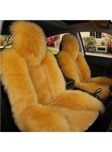 Luxury And Cozy Wool Material Fashional Design Five Universal Car Seat Cover