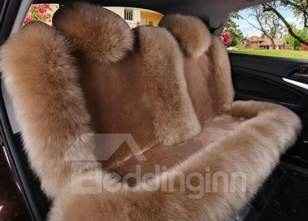High-Grade Plush Material Warm And Most Comfortable Universal Car Seat Cover