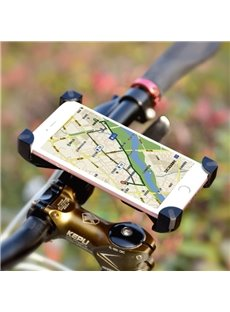 Outdoor Bike Phone Mount Holder Cradle 360 Degree Cycling Clip-Grip Mount Holder