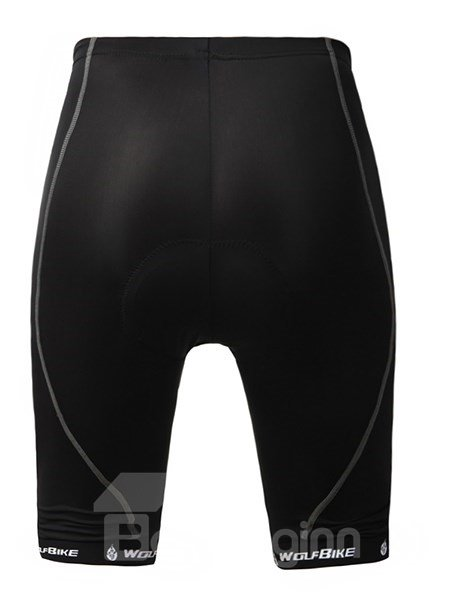 Female Black Streamline Breathable Bike Shorts Quick-Dry Cycling Shorts