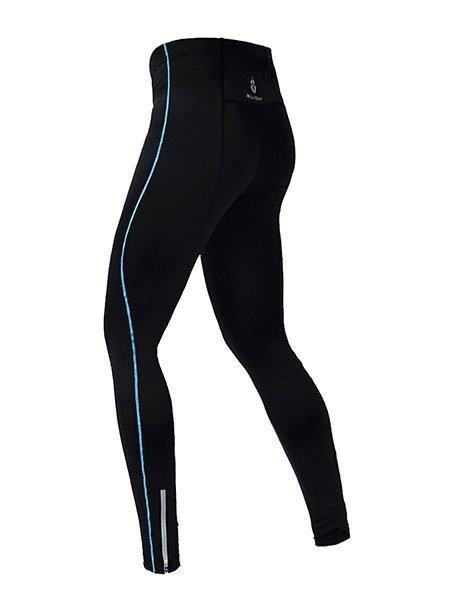 Male Streamline Road Bike Pants Quick-Dry Outdoor Sports Long Sleeve Pants