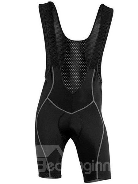 Male Pro 3D Padded Cycling Bib Shorts Gel Padded Front Cycling Shorts