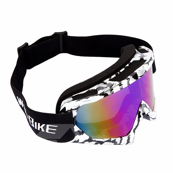 Unisex Stylish Outdoor Windproof Snow Goggles Scratch-Resistant Bendable Anti-Fog Ski Goggles