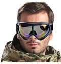Unisex Snow Goggles with Dual Layer Anti-Fog Lens Windproof Big Spherical Ski Goggles