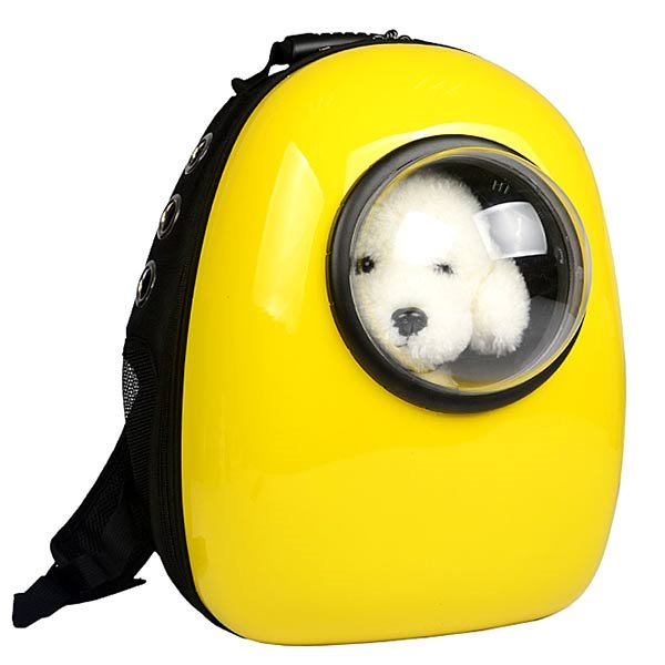 Desert Cool Space Capsule Design Breathable Oxford Pet Carrier