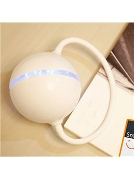 White Creative Headset Shape USB LED Night Light