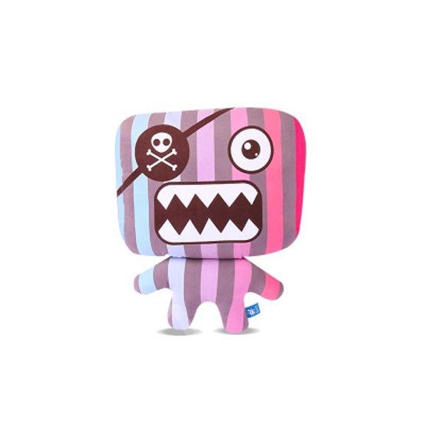 Cute Cyclops Pirate Monster Cartoon Creative Car Pillow