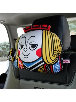 Poker People Style Cute And Popular Creative Car Pillow