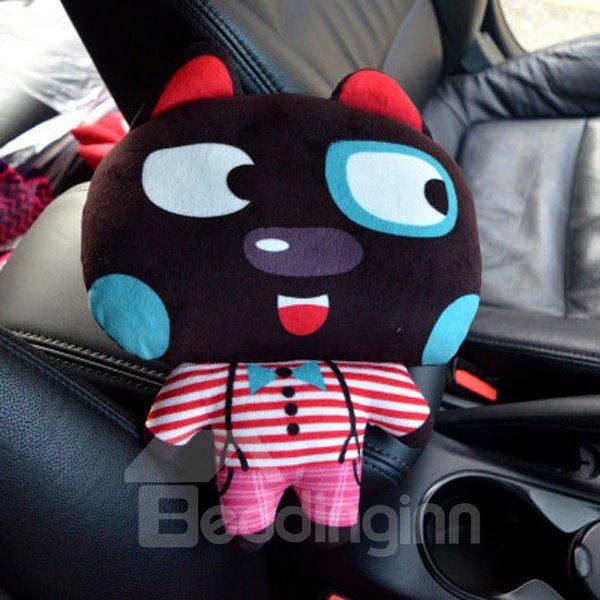 Enjoyable And Comfortable Cartoon Black Rabbit Creative Car Pillow