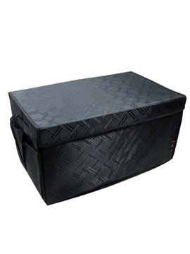 Classic Black Design Super High Capacity And Foldable Trunk Organizer