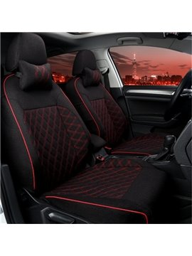 Classic Black And Red Mixing Most Popular Charming Universal Car Seat Cover
